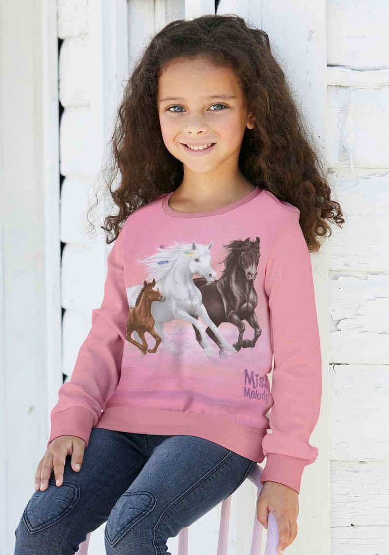 Miss Melody Longsweatshirt für Pferdefreunde