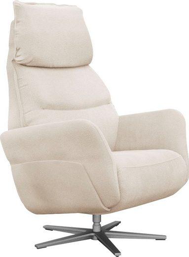 ADA trendline Relaxsessel »Thimo«, in Größe M, Liegefläche 180cm, mehrfach verstellbar, optional mit Aufstehhilfe