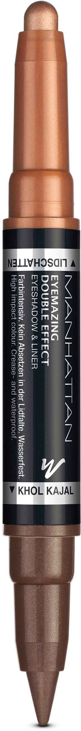 MANHATTAN Lidschatten »Eyemazing Double Effect Eyeshadow & Liner«