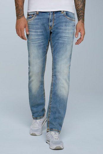 CAMP DAVID Comfort-fit-Jeans mit breiten Nähten