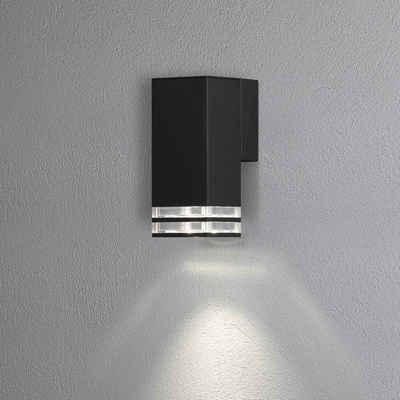 click-licht Deckenleuchte »Antares Wandleuchte in Schwarz GU10 IP44 190mm«, Aussenlampe, Aussenwandleuchte, Outdoor-Leuchte