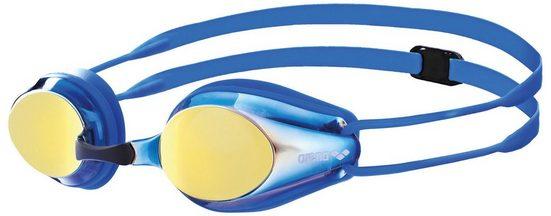 Arena Schwimmsportzubehör »Tracks Mirror Goggles Kinder«