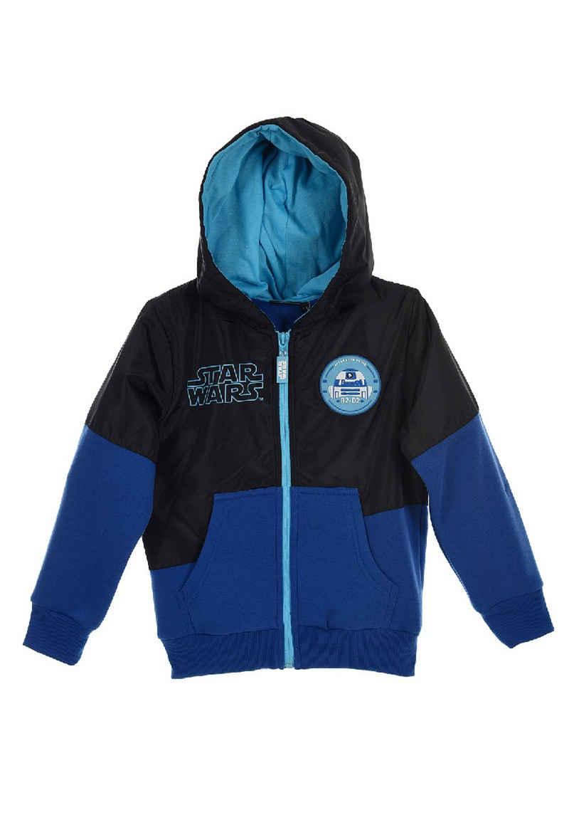 Star Wars Kapuzensweatjacke »R2D2 Stormtrooper Winter Übergangs Jacke mit Kapuze«