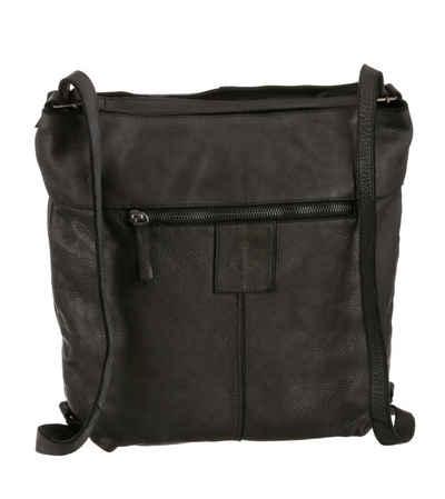 HARBOUR 2nd Cityrucksack »Cayenne«, aus Leder als Rucksack oder als Umhängetasche tragbar