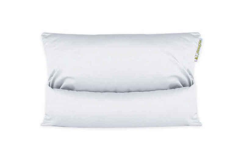 Bettwäsche »Kissenbezug HOME«, mySheepi, mit Reißverschluss, Baumwoll-Satin