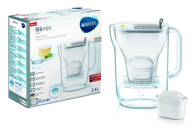 BRITA Wasseraufbereiter »Tischwasserfilter fill & enjoy Style«, 2,4 l, Wasserfilter