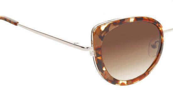 MORE&MORE Sonnenbrille (Set  Sonnenbrille inkl. Etui) Federscharnier