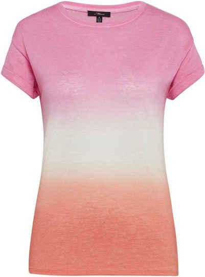 Mavi T-Shirt »TIE DYE TOP« im stylischen Batik Muster