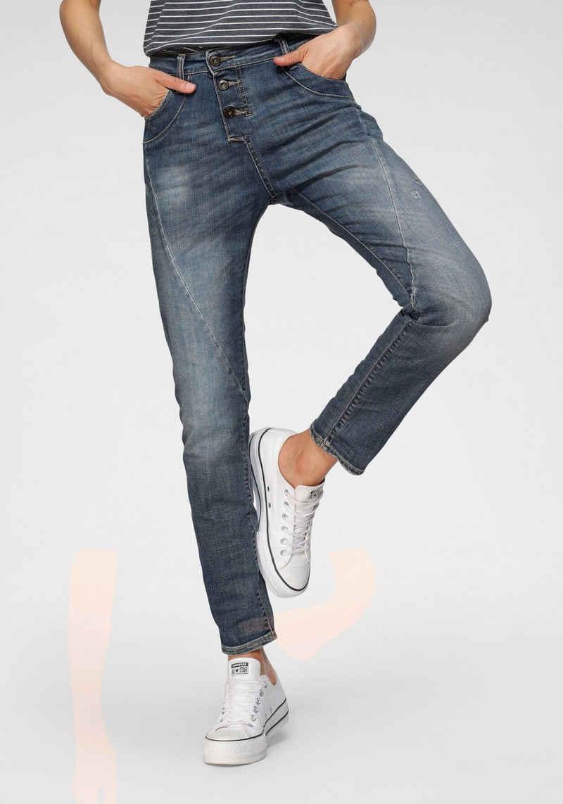 Please Jeans Boyfriend-Jeans »P 78A« Original Boyfriend-Cut mit dezenten Destroyed Effekten