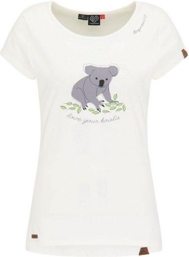 Ragwear T-Shirt »MINT KOALA« Charity Projekt