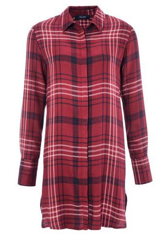 Aniston CASUAL Ilgi marškiniai im Karo-Dessin - NEUE ...
