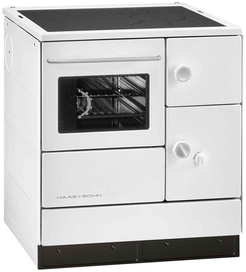 Haas + Sohn Festbrennstoffherd »HA 75.5«, 7,5 kW, Dauerbrand