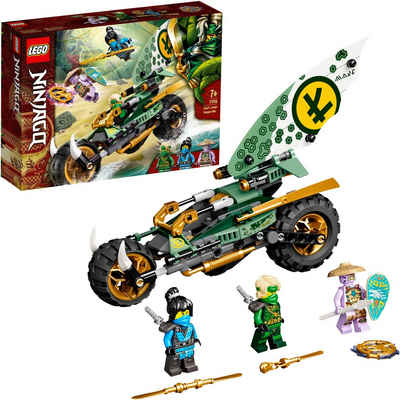 LEGO® Konstruktionsspielsteine »Lloyds Dschungel-Bike (71745), LEGO® NINJAGO®«, (183 St), Made in Europe