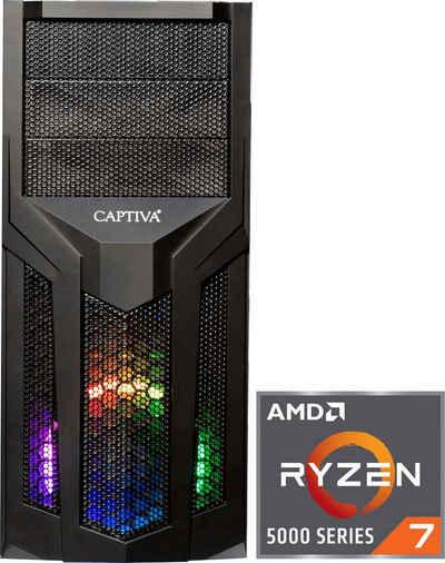 CAPTIVA G15AG 21V2 Gaming-PC (AMD Ryzen 7 5800X, GeForce RTX 3060Ti, 16 GB RAM, 1000 GB HDD, 500 GB SSD, Luftkühlung)