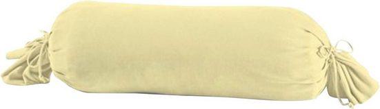 Nackenrollenbezug »Nelke«, Schlafgut (1 Stück), mit Kordel zum verschließen