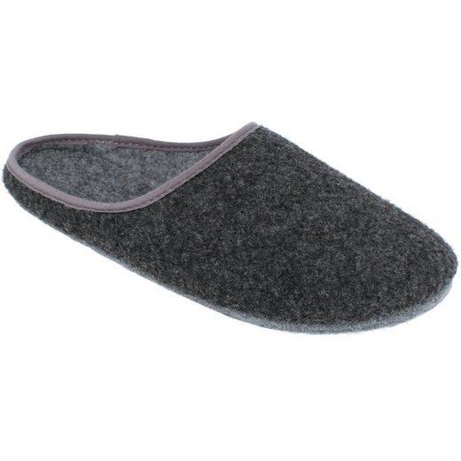 filsko »Filz-Pantoffeln für Damen und Herren« Hausschuh warme Hausschuhe, mit Filzsohle