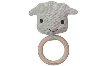 Kindsgut Beißring-Rassel »Häkel-Greifling Schaf«