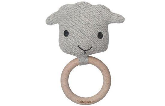 Kindsgut Beißring-Rassel »Kindsgut Häkel-Greifling Schaf«