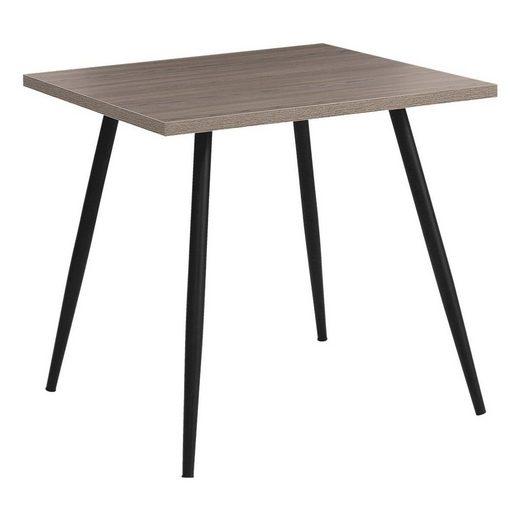 Mayer Sitzmöbel Ablagetisch »my Gerry«, quadratisch mit Dekorkanten