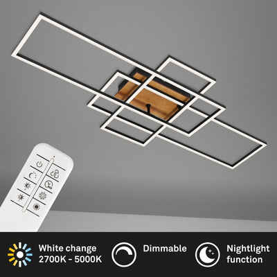 Briloner Leuchten Deckenleuchte »3156-014«, Deckenlampe dimmbar schwenkbar CCT Steuerung