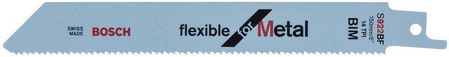 Bosch Professional Säbelsägeblatt S 922 BF, Flexibel für Metall 5-St , Flexible for Metal