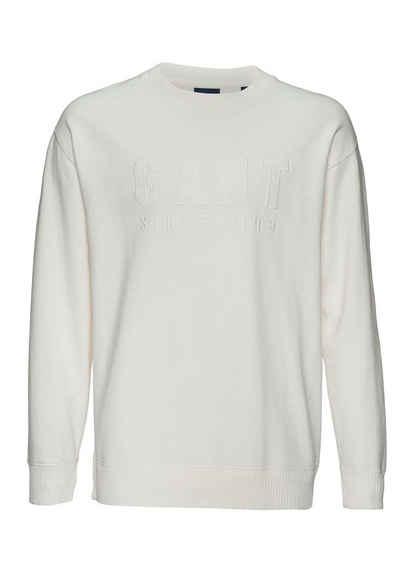 Gant Sweatshirt »D2. TONAL LOGO SWEAT C-NECK«