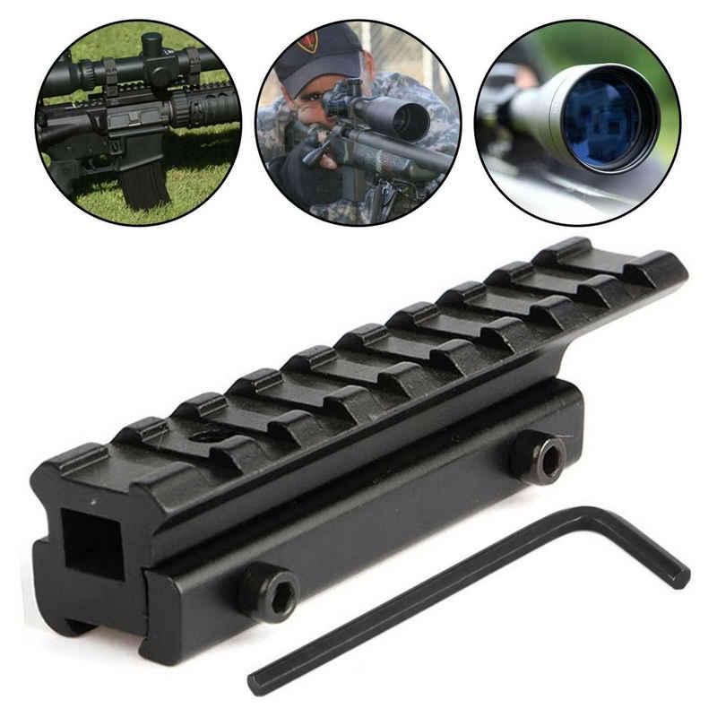 Einfeben »Zielfernrohr Prismenschiene 11mm zu 20mm Luftgewehr Schiene Rifle Riflescope Gifle Armbrust Montag« Zielfernrohr
