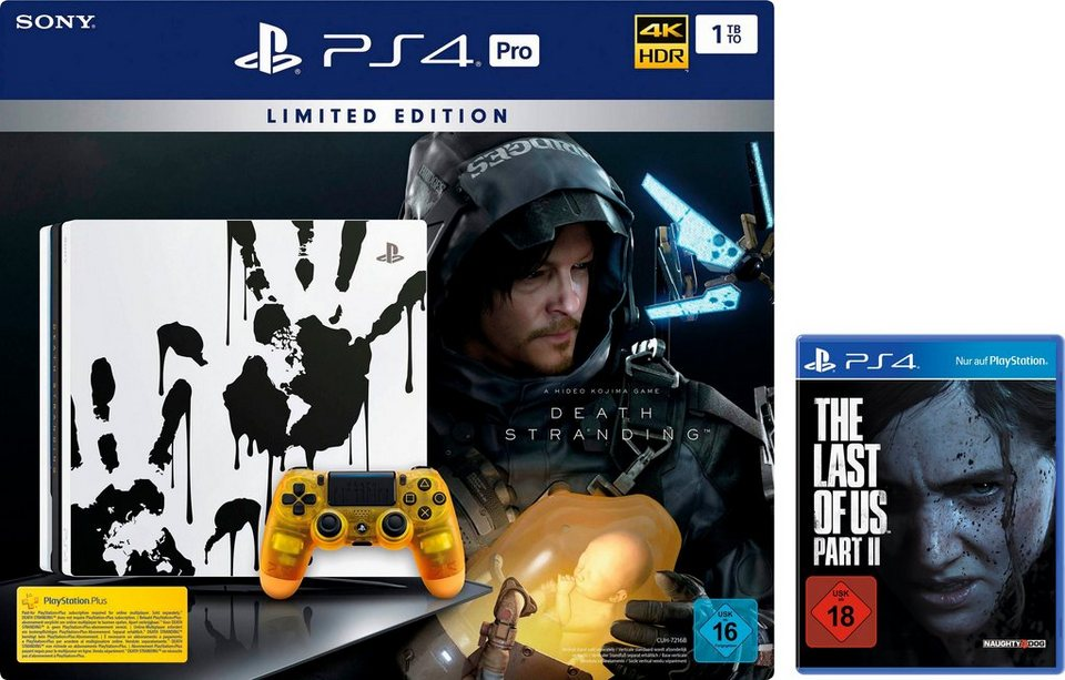 PlayStation 4 Pro 1TB, Death Stranding LE inkl. The Last of Us Part II