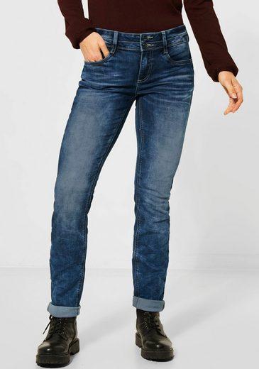 STREET ONE 5-Pocket-Jeans »Jane« mit zweireihigem Knopfverschluss