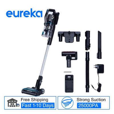 Eureka! Akku-Bodenstaubsauger Eureka H11, Midea Eureka H11 Handheld Wireless Vacuum Cleaner Portable Cordless 25Kpa 155AW 450W Dust Collector Floor Carpet Cleaner