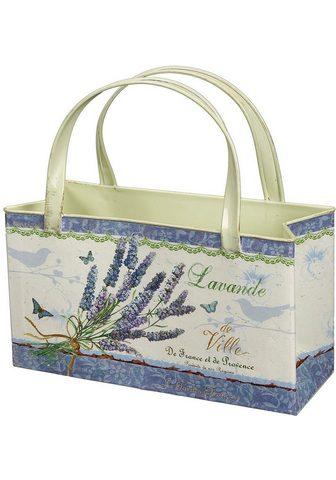 Ambiente Haus Übertopf »Lavendel - krepšys iš Metall...