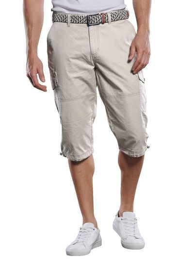 Engbers Caprihose »Sportive Cargo Hose in sommerlicher Farbe«