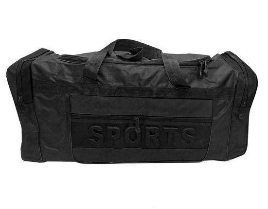 dynamic24 Sporttasche, XXL Sporttasche 75cm Fitness Trainingstasche Sport Training Tasche Reisetasche