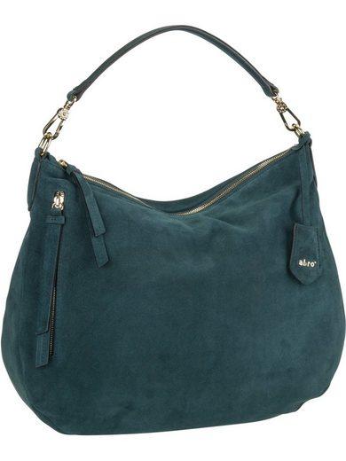 Abro Handtasche »Juna 29018 Suede«, Beuteltasche / Hobo Bag