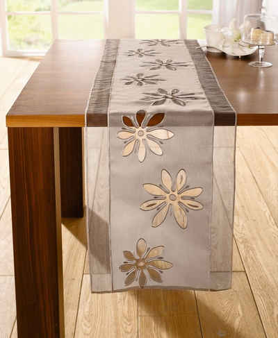HomeLiving Tischläufer »Organzablüte«