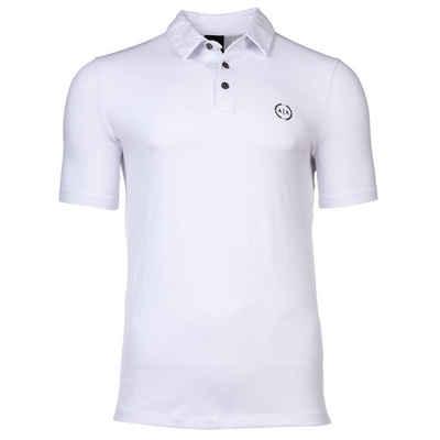 ARMANI EXCHANGE T-Shirt »Herren Poloshirt - Mikro-Logo, Slim fit, Cotton«