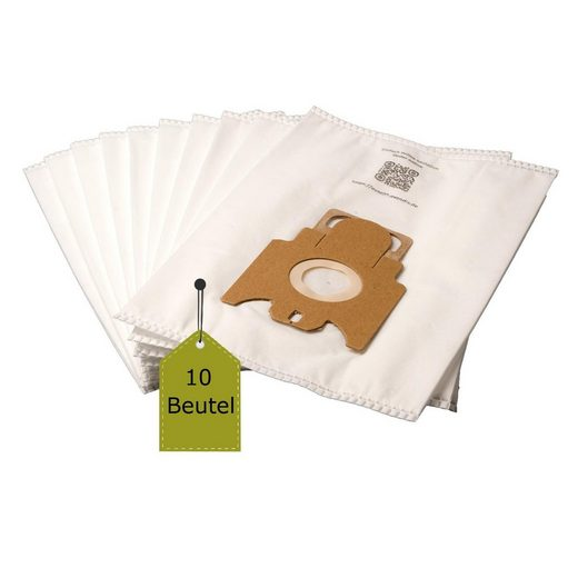 eVendix Staubsaugerbeutel Staubsaugerbeutel passend für Miele EcoLine - S8, 10 Staubbeutel + 1 Mikro-Filter ähnlich wie Original Miele Staubsaugerbeutel Typ GN, passend für Miele