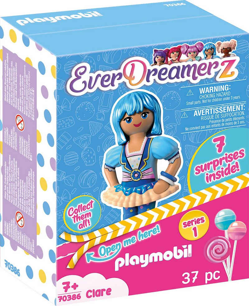 Playmobil® Konstruktions-Spielset »Clare (70386), EverDreamerz«, (37 St), Made in Europe