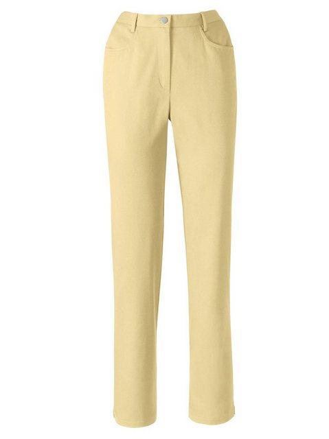 Hosen - Classic Basics Bequeme Jeans › gelb  - Onlineshop OTTO