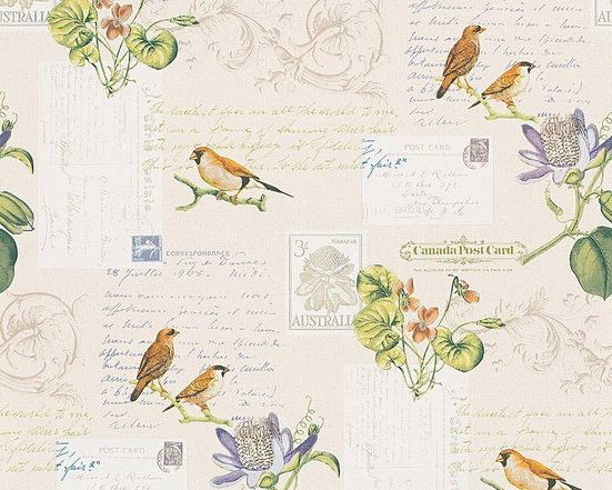LIVINGWALLS Papiertapete »Dekora Natur Vögel«