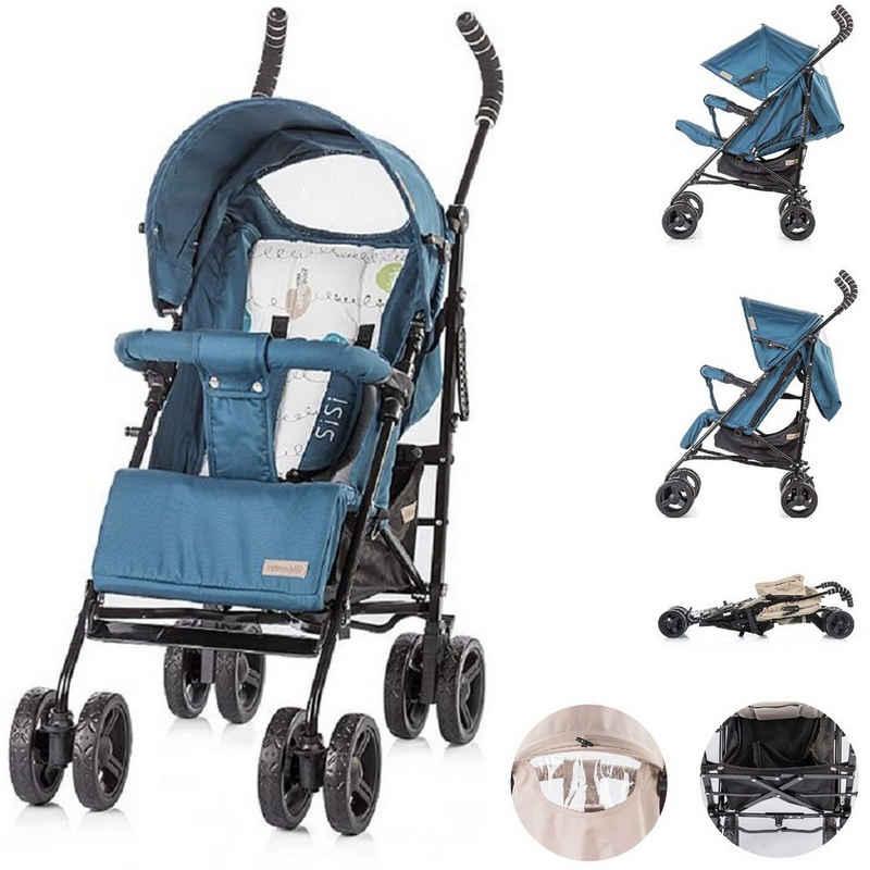 Chipolino Kinder-Buggy »Kinderwagen Sisi, Buggy«, ab 6 Monaten, zusammenklappbar, Sonnendach