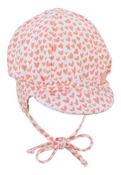 Sterntaler® Ballonmütze »Ballonmütze« (1-St) Erstlingsgrößen; mit angeschnittenen Ohrenklappen und Bindeband