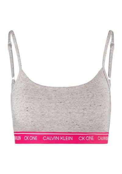 Calvin Klein Bustier »CK ONE COTTON« mit Logobündchen