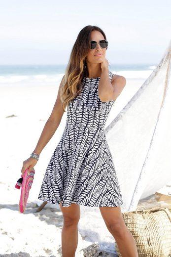 Beachtime Strandkleid mit Alloverdruck