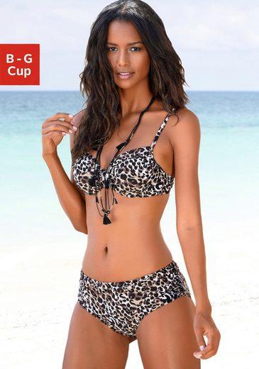 LASCANA Bügel-Bikini in bedruckter Optik