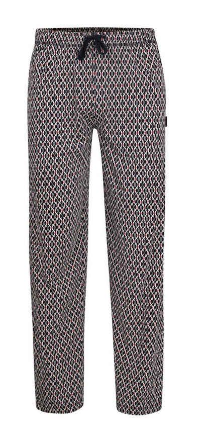 GÖTZBURG Pyjamahose »Götzburg Herren Pyjama Hose lang gemustert« Modisches Klassisches Design