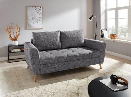 andas 2,5-Sitzer »Blackburn Luxus«, mit besonders hochwertiger Polsterung für bis zu 140 kg Belastbarkeit