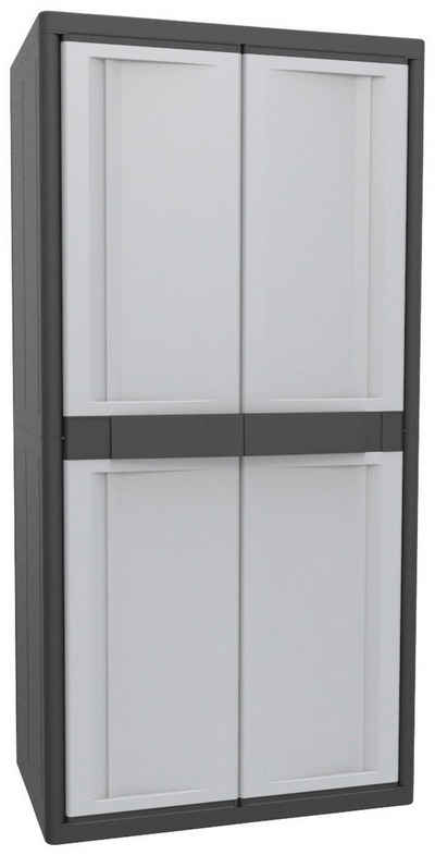 Kreher Stauraumschrank »XL Jumbo« B/T/H: 89,7x53,7x180 cm, abschließbar, mit 3 Böden