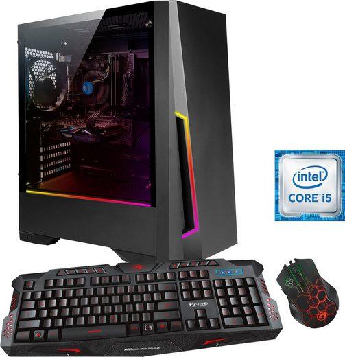 Hyrican Pandora 6517 Gaming-PC (Intel 9400F Core i5, GTX 1660 SUPER, 16 GB RAM, 1000 GB HDD, 480 GB SSD, Luftkühlung)