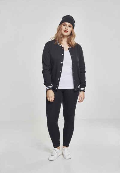 URBAN CLASSICS Sweatshirt »Ladies College Sweat Jacket«
